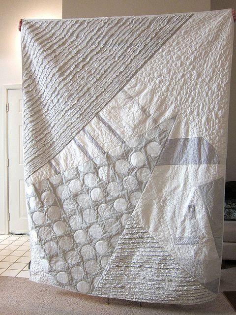 67 | quilts | Monochromatic quilt, Quilts, Grey quilt