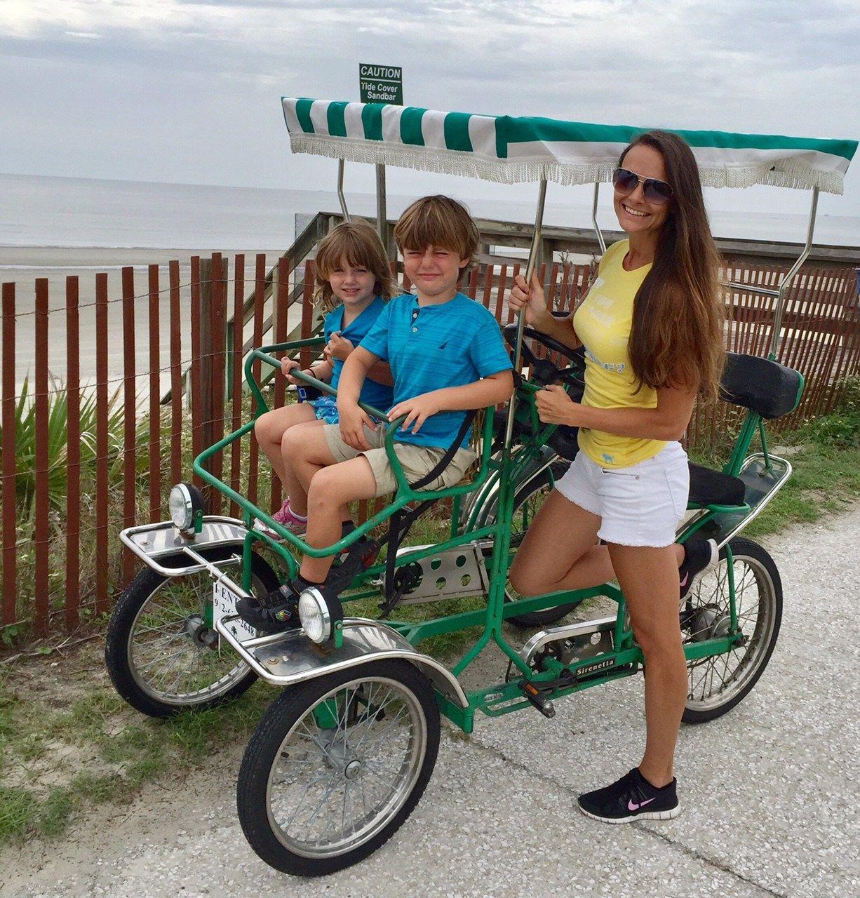 holiday inn jekyll island bike rentals