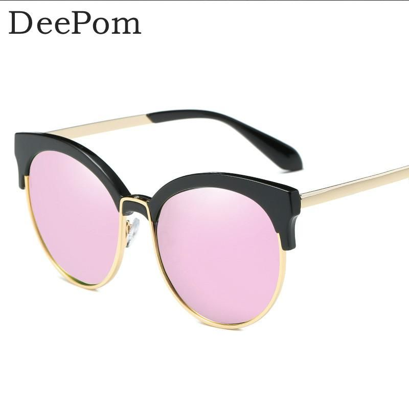 75e185c5fa8 New Polarized Sunglasses Women Fashion Classic Summer Shades Metal Frame  Eyewear Driving women brand designer cat eye sunglasses
