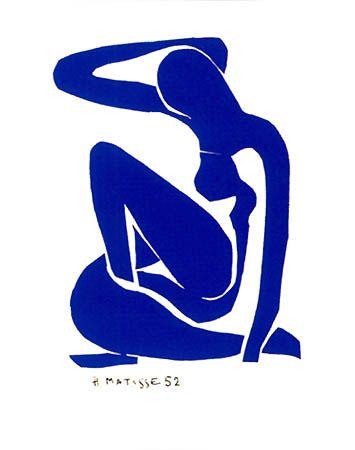 Henri Matisse, Nu Bleu I, 1952