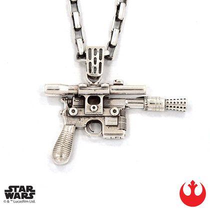 Han Cholo - Han Solo blaster pendant