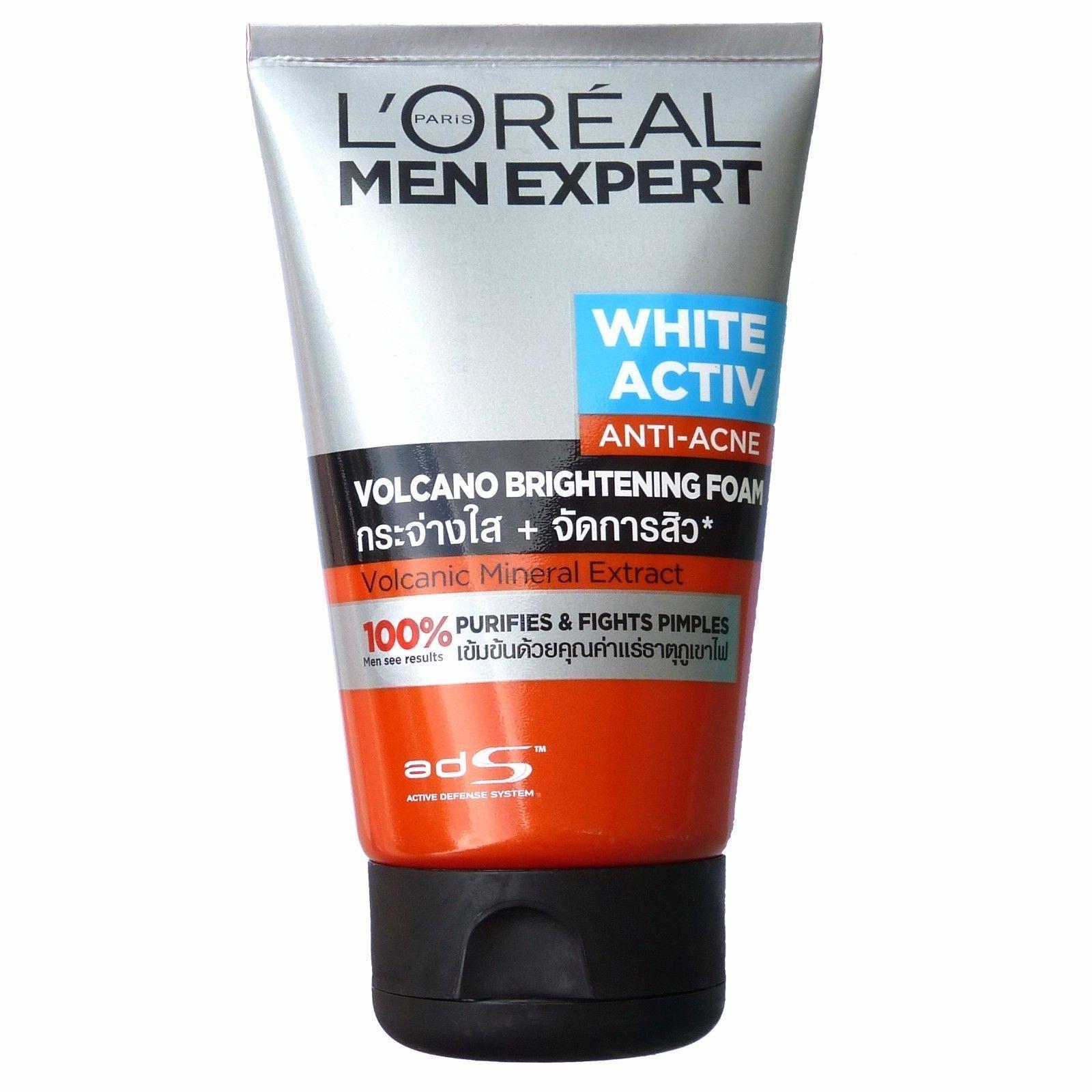 L'Oreal Men Expert White Activ Anti Acne Volcano