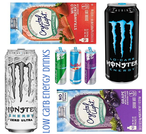 Low Carb Energy Drinks Drinks Energy Drinks Carbs
