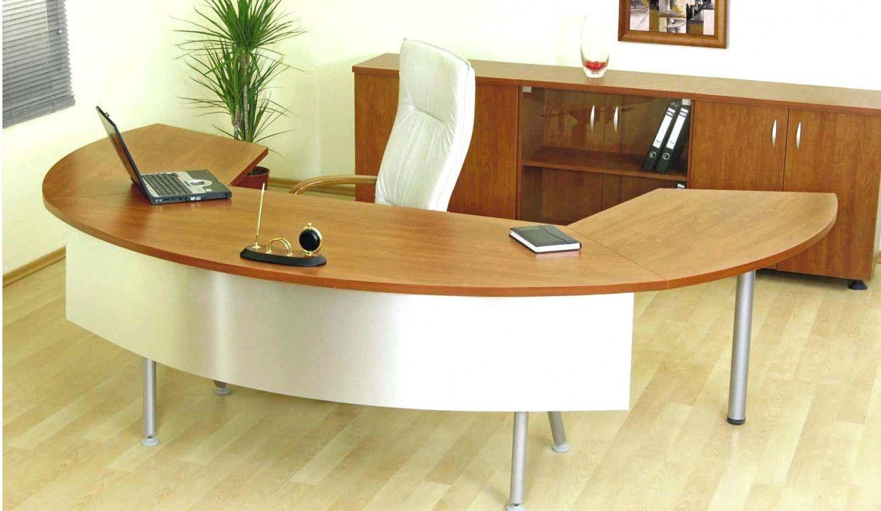 Half Round Office Desk Organization Ideas For Small Desk