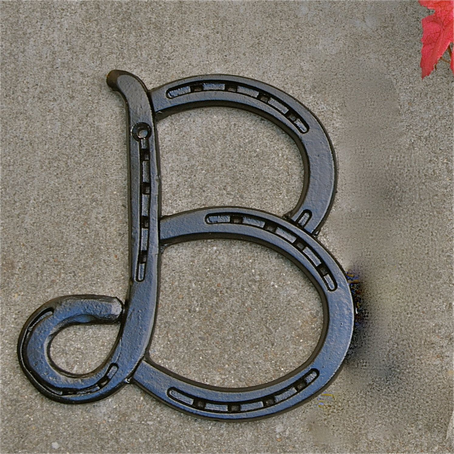 Metal Initials For Crafts Horseshoe Letter Initials For Words A B C Dblacksmithcreations