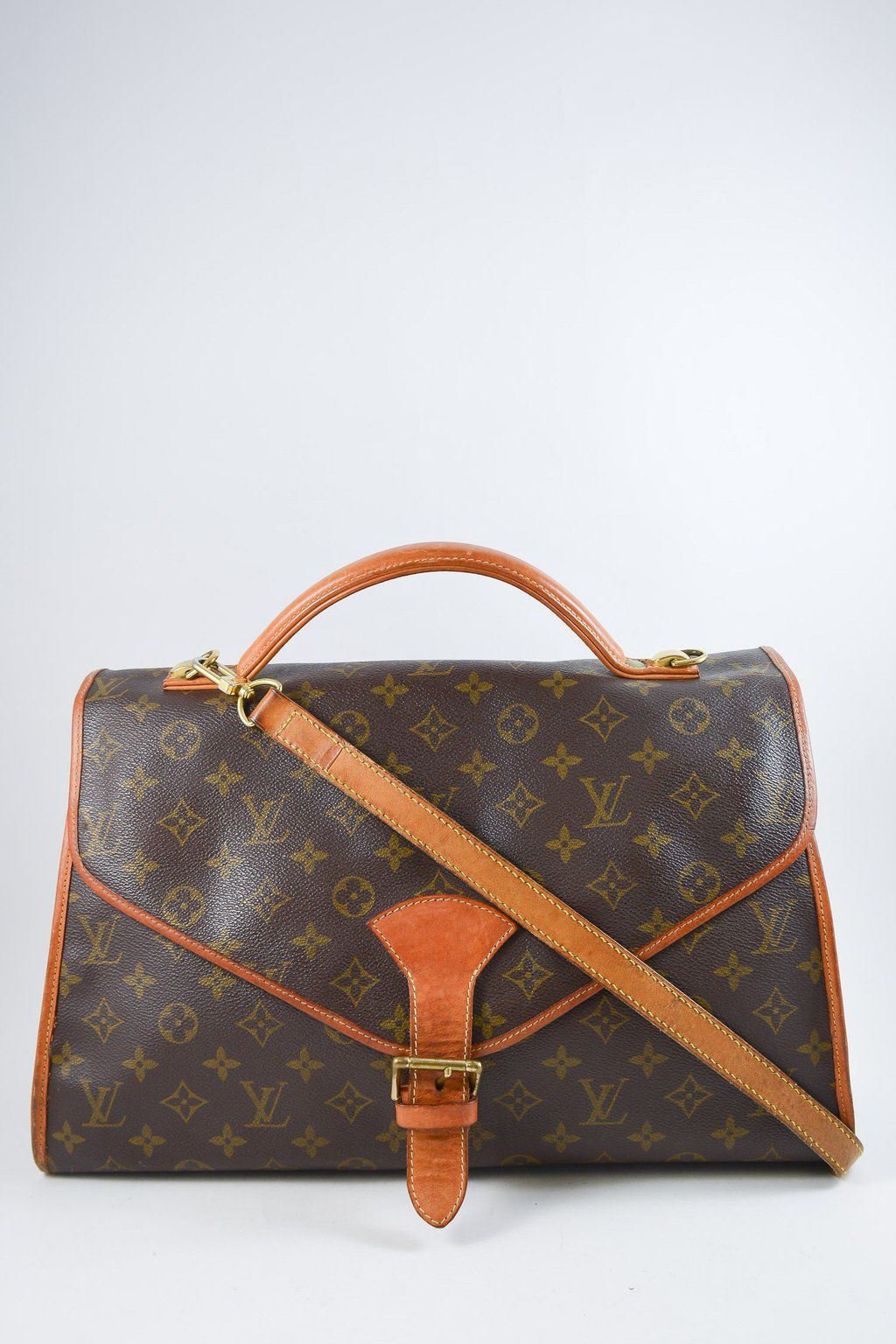 6255fa1f2fbe Louis Vuitton Vintage Monogram Canvas Beverly GM Briefcase Bag. Signature LV  monogram coated canvas with