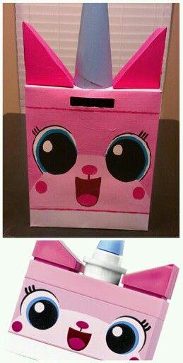 Unikitty Valentine Box For Jordyn