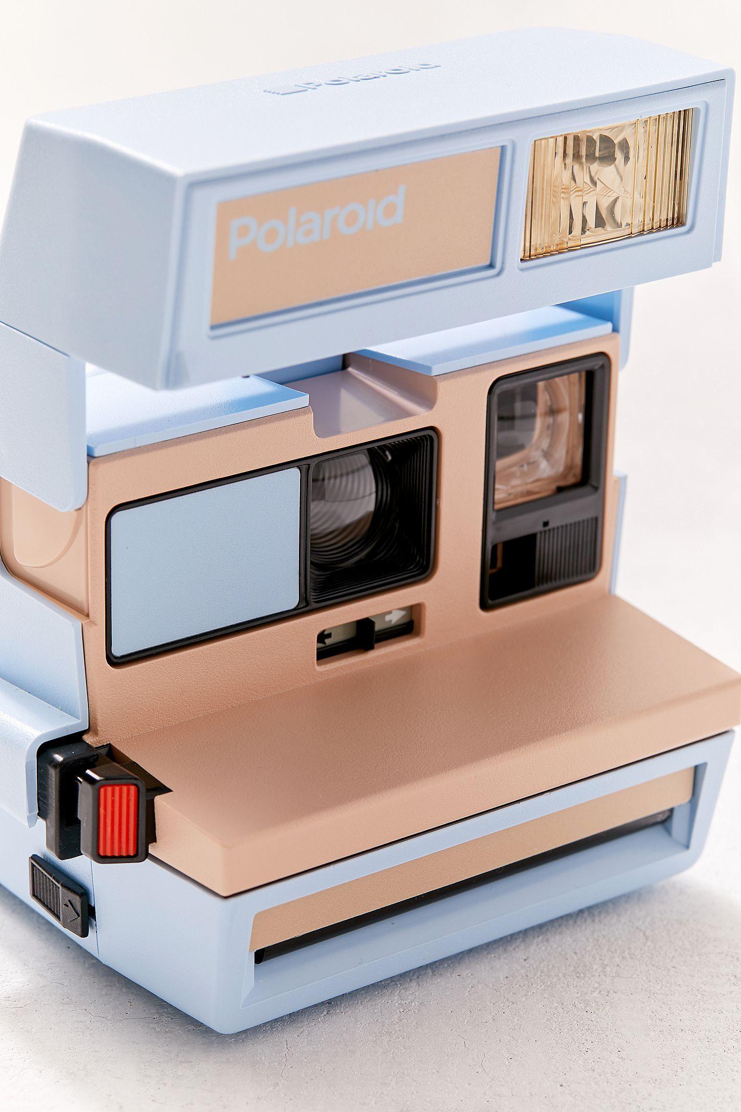 Polaroid Originals UO Exclusive 600 Blueberry Instant Camera