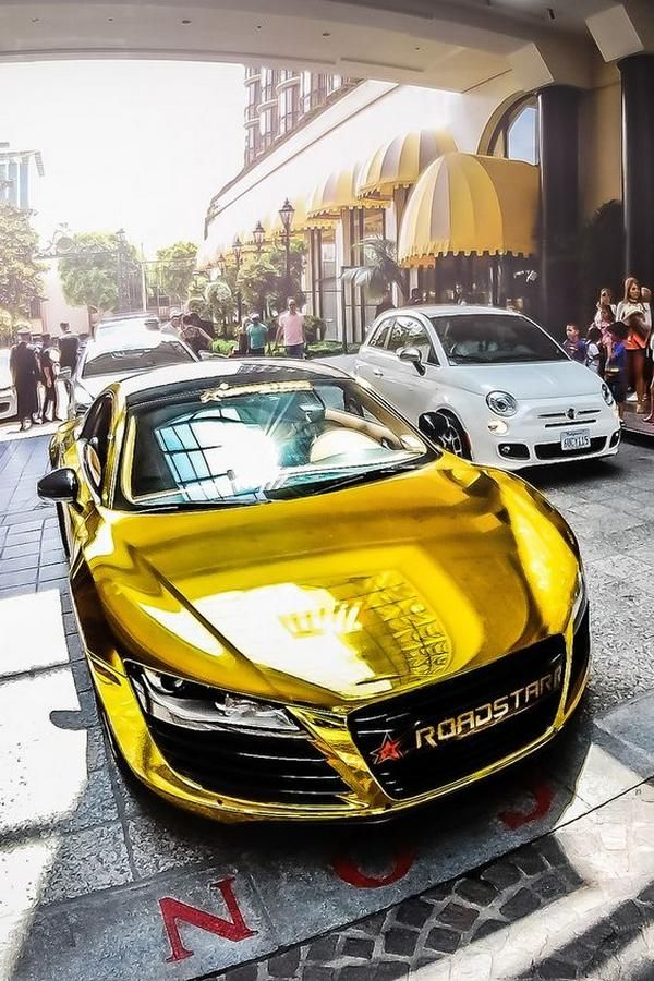 Gold Cool Cars : Awesome, Stylish, Audi,, Sports, Cars,