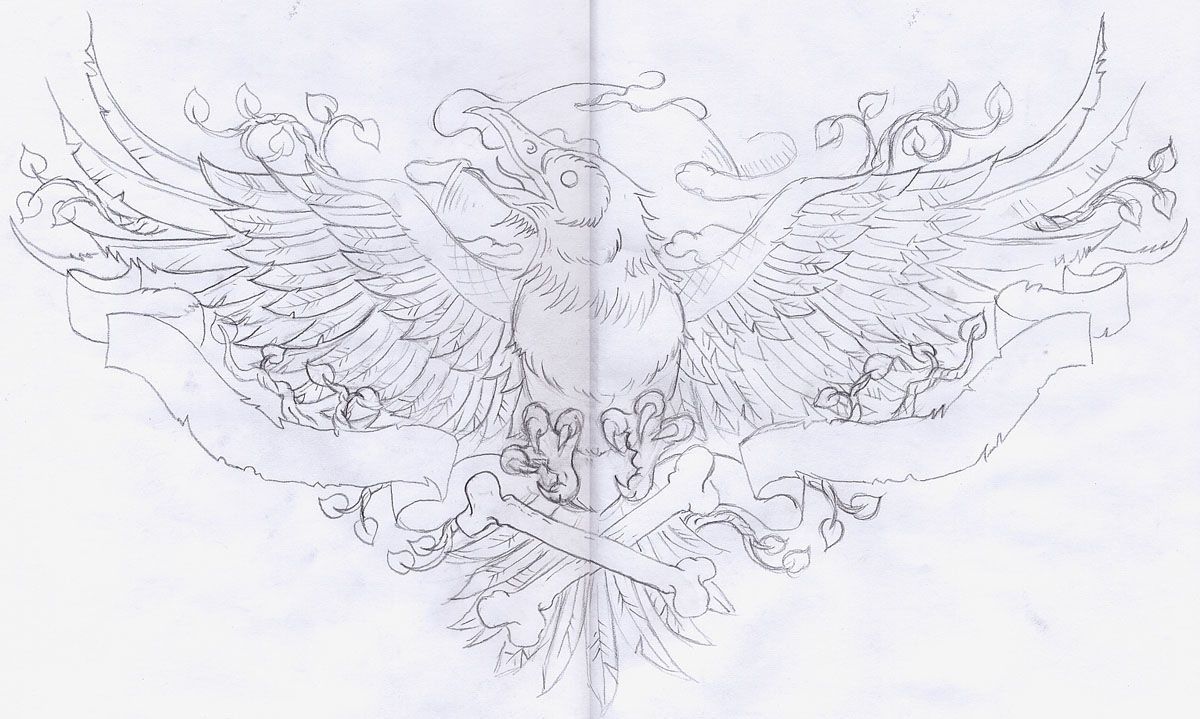 "Edgar Allan Poe ""The Raven"" Tattoo"