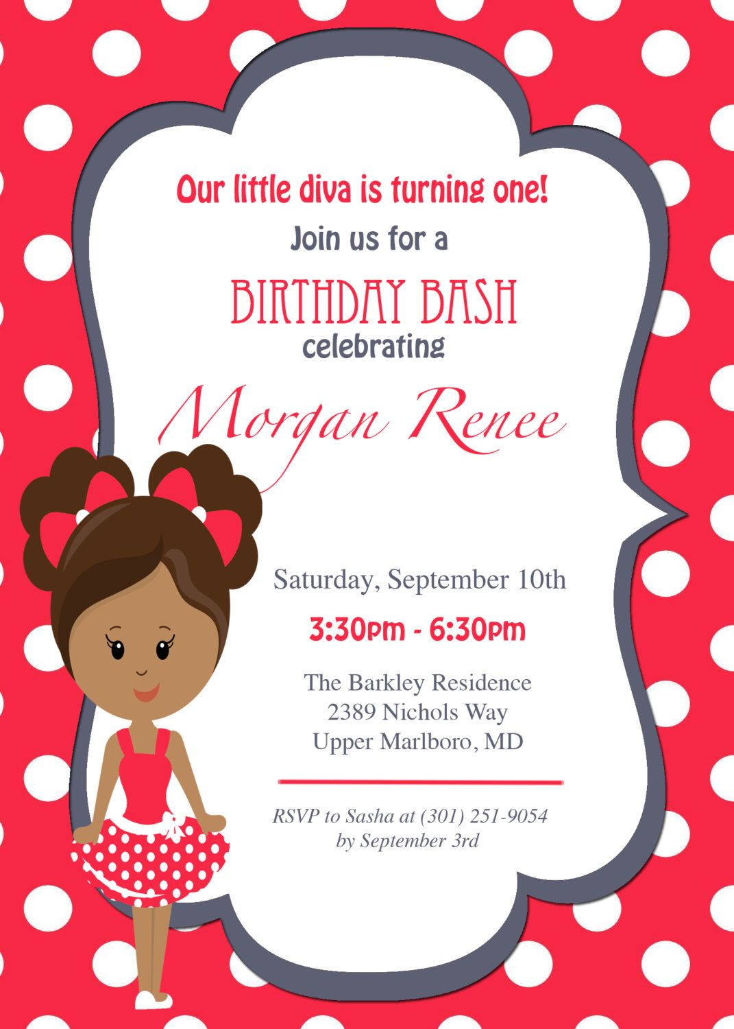 Future Delta Birthday Invitation, Custom Birthday Invitation, Delta ...