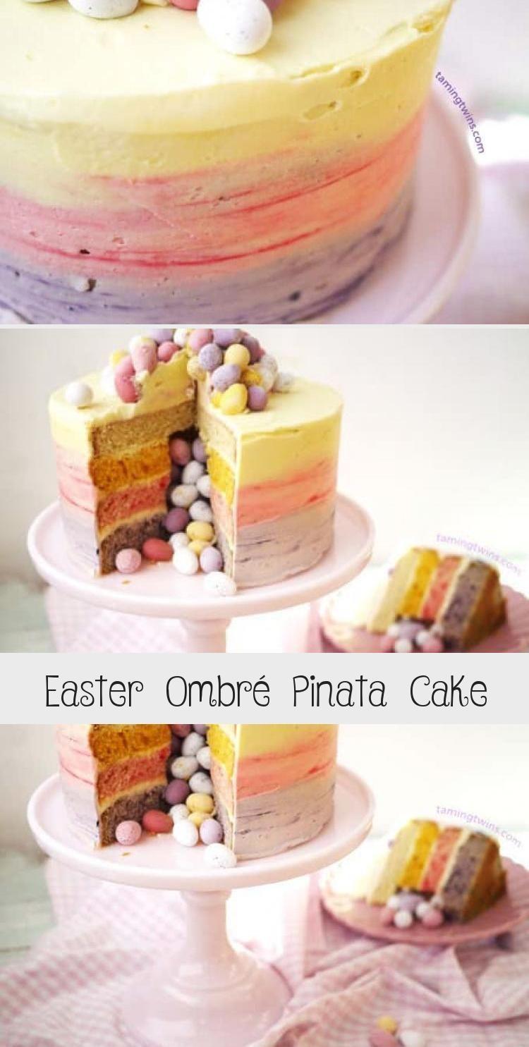 Mini Egg Ombre Pinata Layer Cake Pinatakucheneinfach Pinatakuchenrezept Pinat In 2020 Pinata Kuchen Einfach Pinata Kuchen Kuchen Rezepte