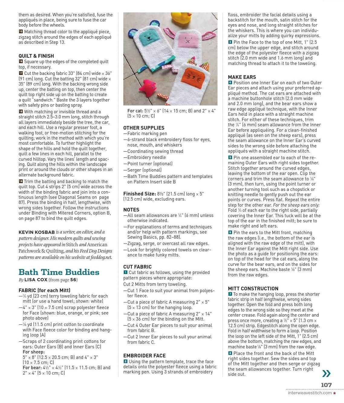 Clippedonissuu from stitch spring emag sewing pinterest