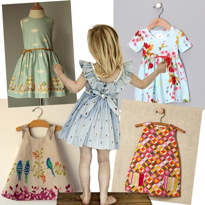 ropa para nias estilo vintage