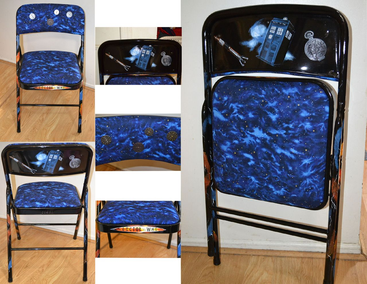 Comfy chairs doctor who - Doctor Who Themed Chair That I Made For My Sons Dorm Room Submitted By