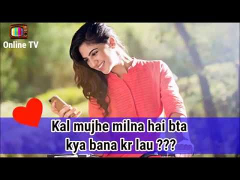 30 Sec Whatsapp Status Video Song Cute Love Story In Hindi Latest 2017
