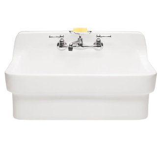 Bisque Porcelain Kitchen Sink
