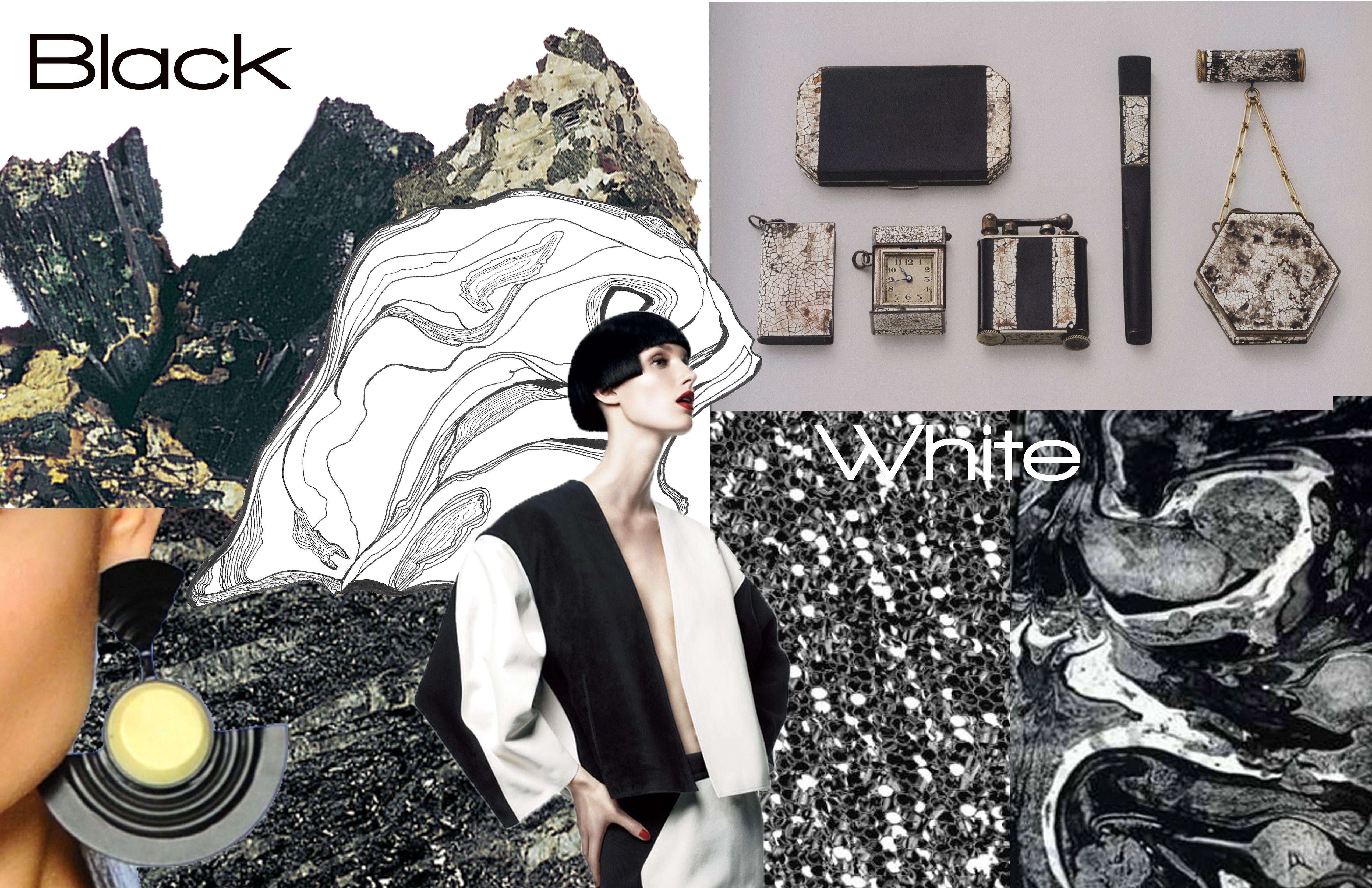 Black and White Concept Board