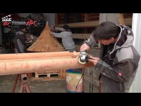 Bildergebnis für holzdachrinnen selber bauen Dachrinne
