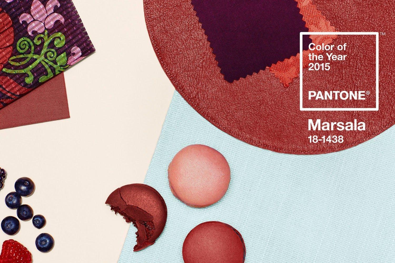 Living Styles: Marsala - farba roka 2015!