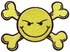 Smiley Face - Have a Nice day Patch from www.klicnow.com