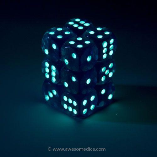 Glow, Blue, Dark Spots
