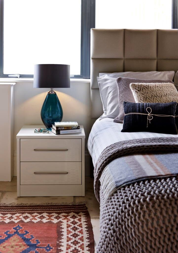 A Bedside Table From John Lewis Of Hungerford In Urban Style Creates A  Clean, Modern