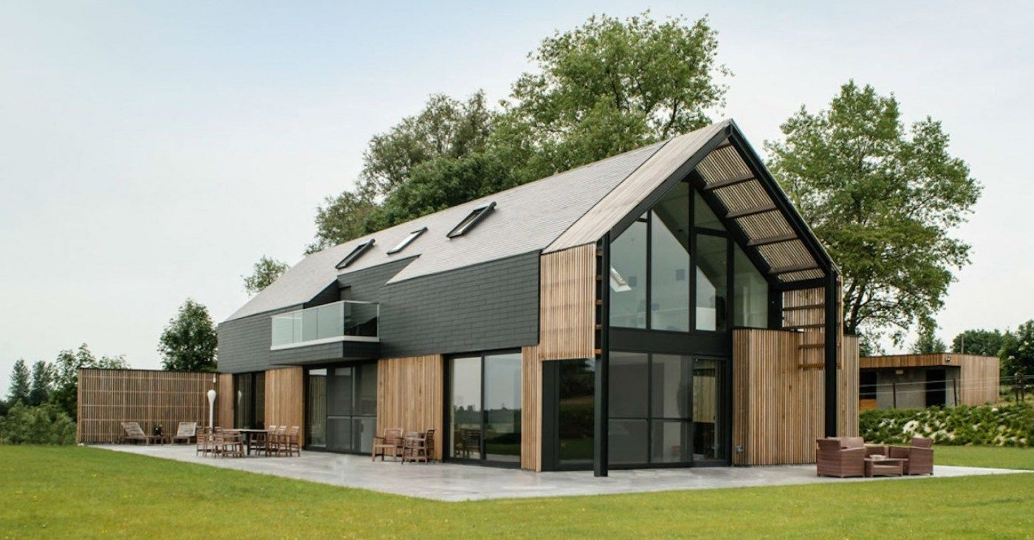 Image Result For Modern Pole Building House Modern Barn House