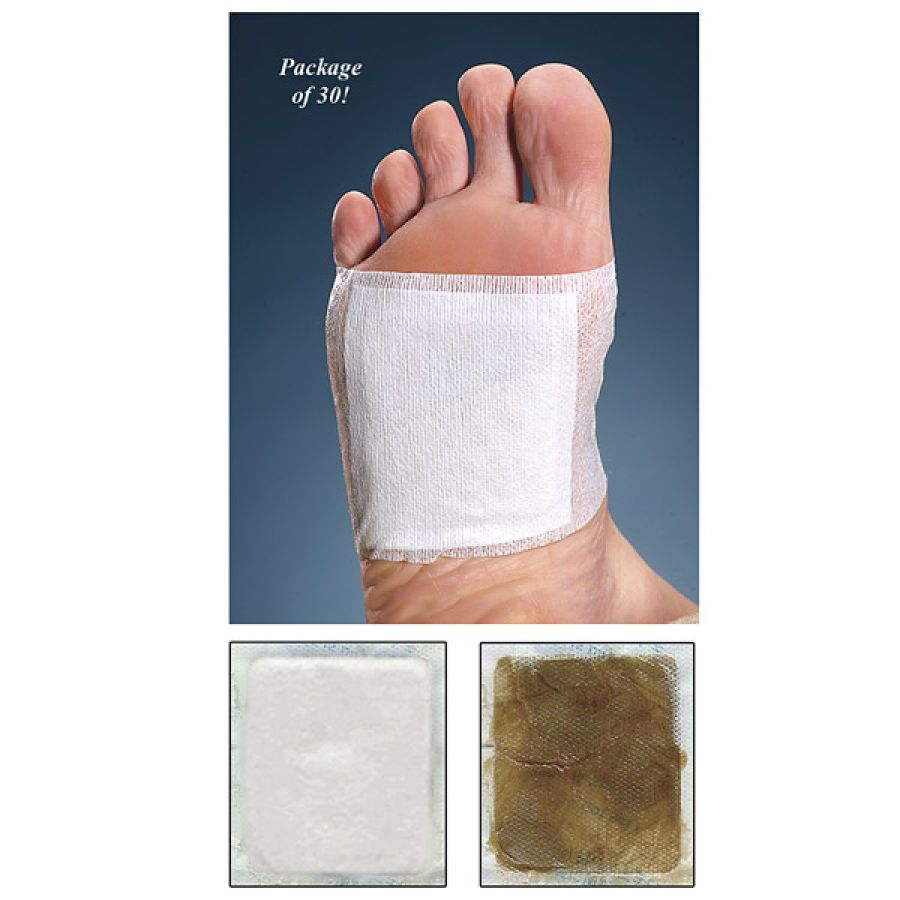 foot detox patches - wonder if these work