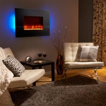 Wall Mount Electric Fireplace Http Electricfireplaceheater Org Best Electric Fireplace He Wall Mount Electric Fireplace Fireplace Design Electric Fireplace