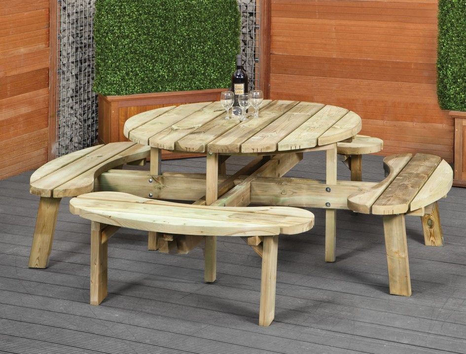 Terrific Furniture Picnic Table Bench Round Table Design Ideas Caraccident5 Cool Chair Designs And Ideas Caraccident5Info