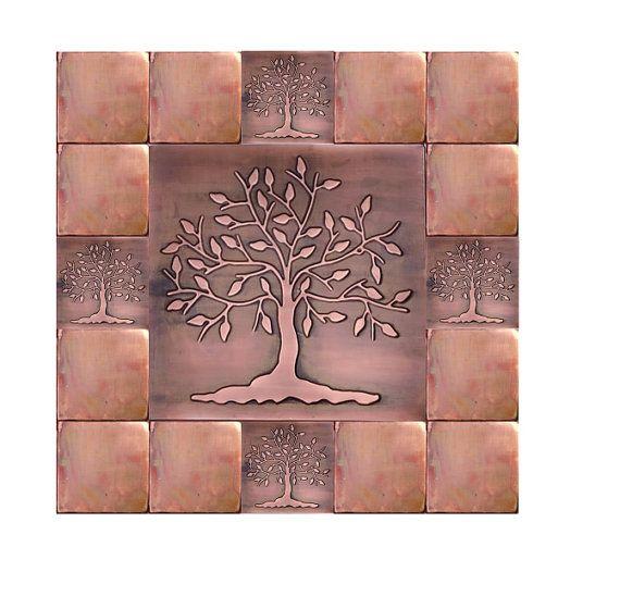 Kitchen Backsplash Tiles Accent Tiles Tree Of Happiness