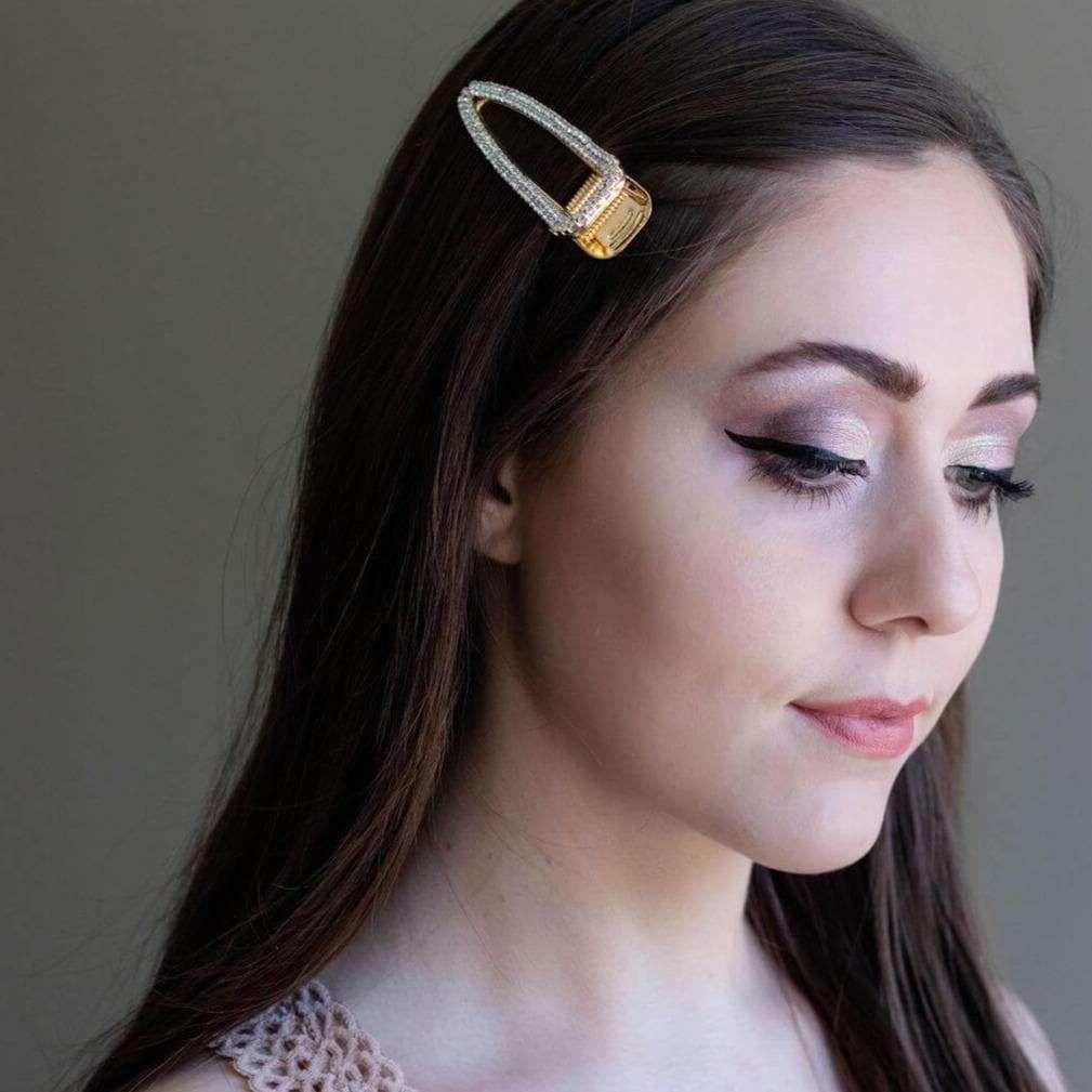 Photo of Arlington Crystal Adorned Hair Clip