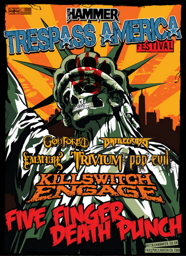 Killswitch Engage Trespass America Festival | Music