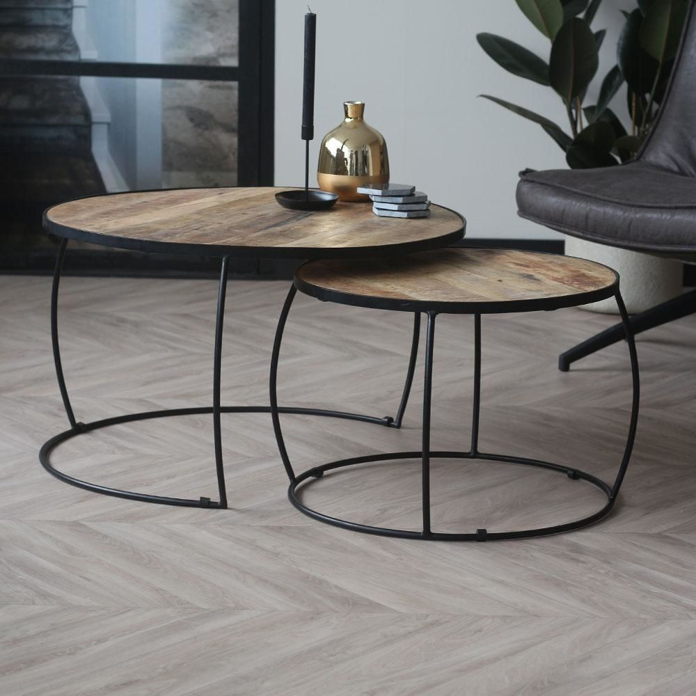Coffee Table Boxer Set Of 2 Industrial Design In 2021 Coffee Table Industrial Coffee Table Table [ 1000 x 1000 Pixel ]