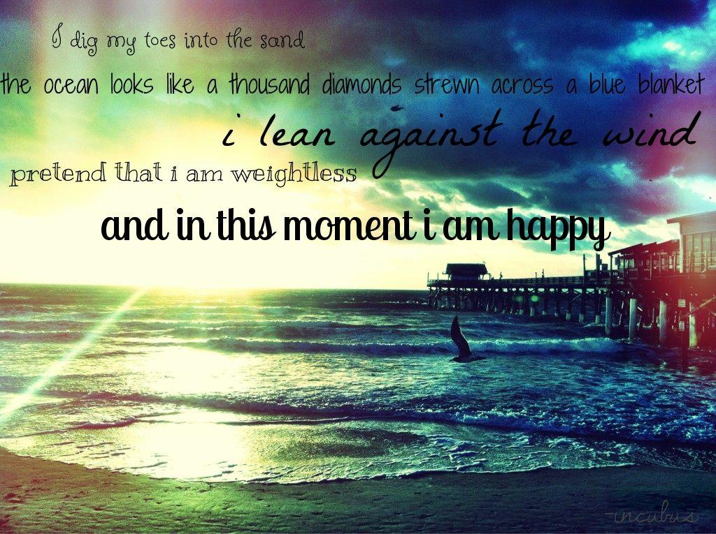 d0059fe7bd The ocean looks like a thousand diamonds strewn across a blue blanket. I  lean against the wind