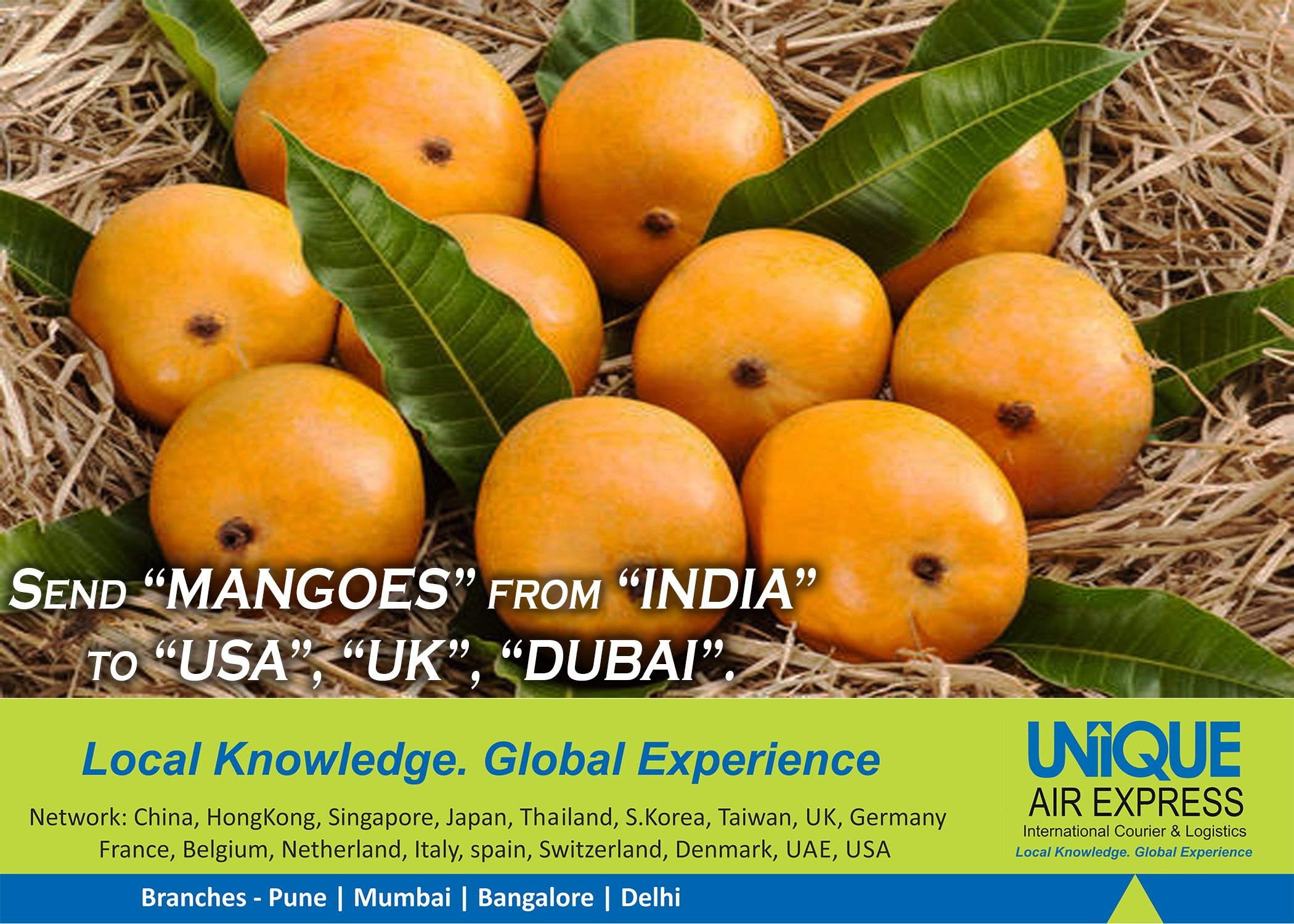 Send #Mangoes To #USA, #UK & #Worldwide  Let Your Dear Ones