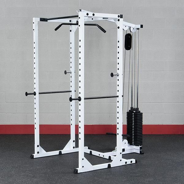 body solid power rack at home gym