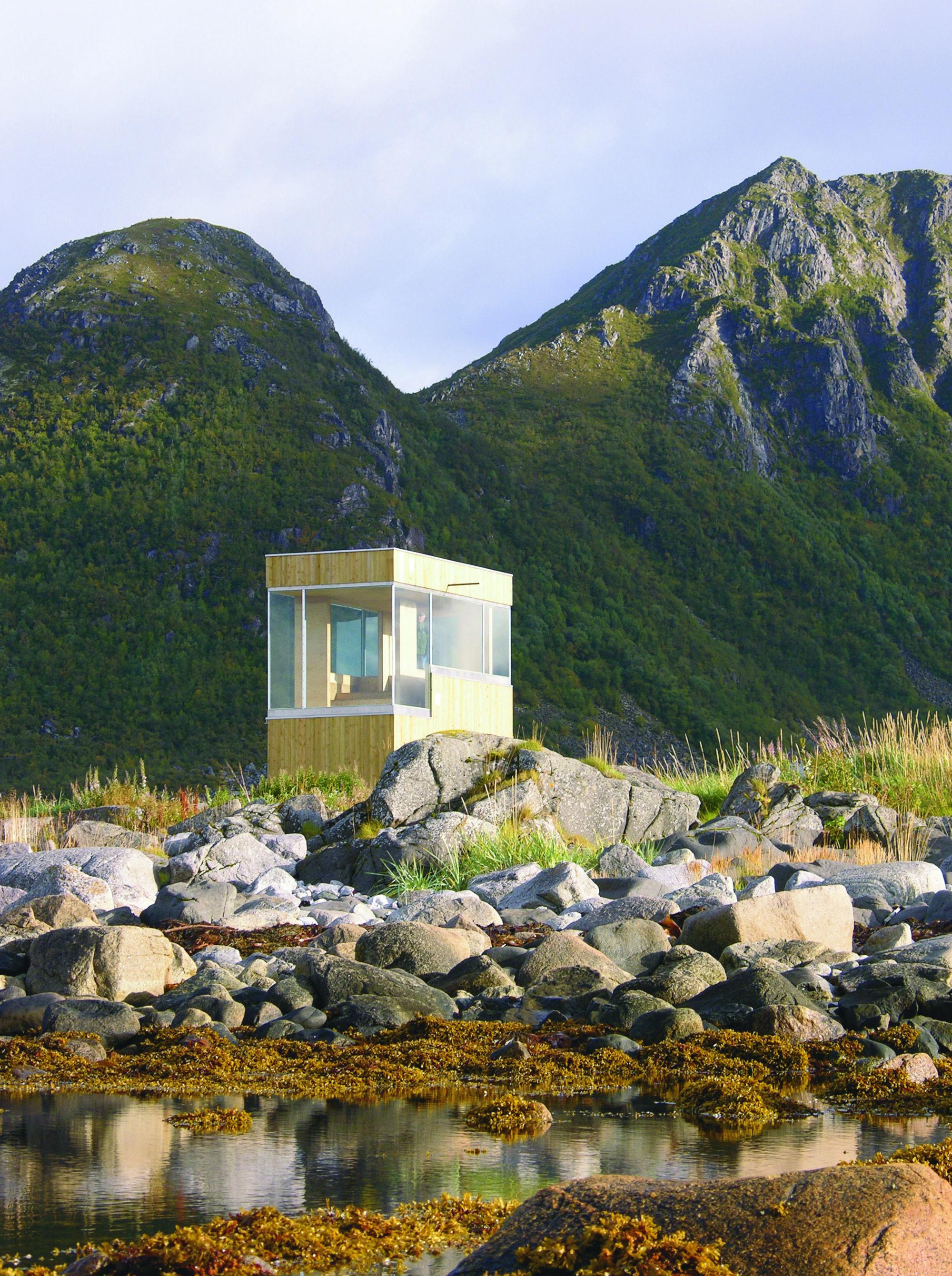 Grunnfør Bicycle Shelter by 70°N arkitektur, Norway