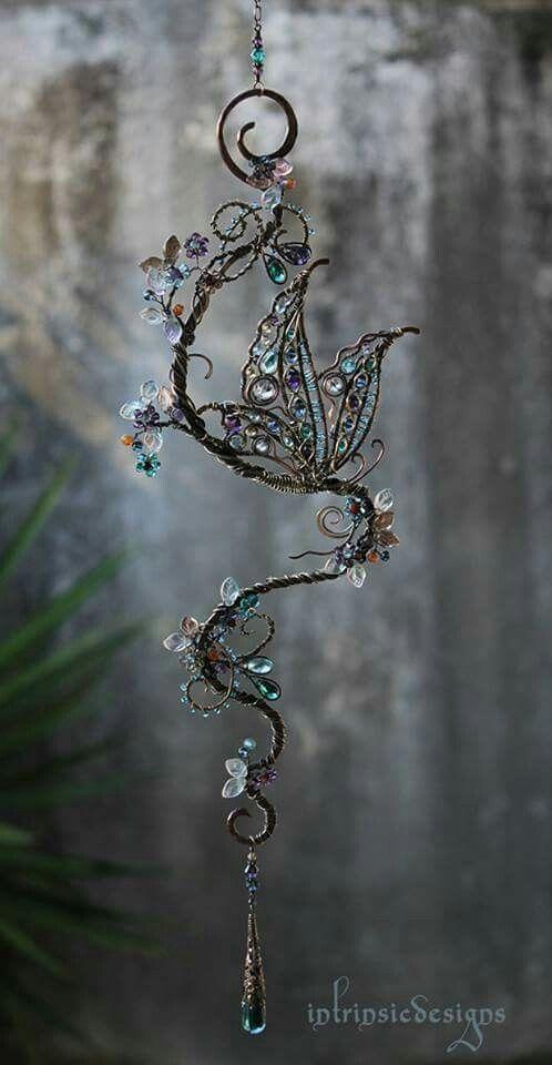 Pin von Linda Teague auf crafty | Pinterest | Draht, Drahtschmuck ...