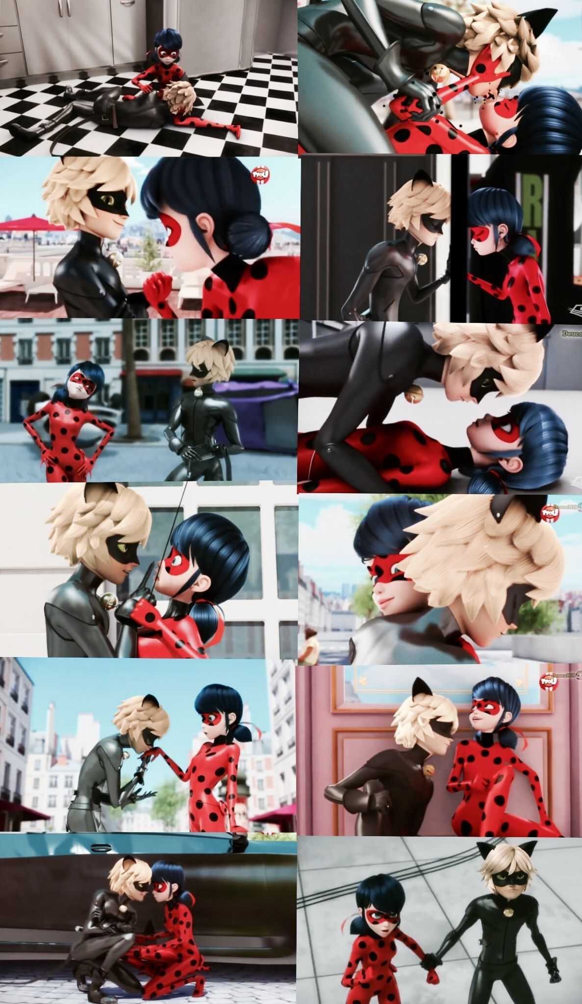 Ladybug And Cat Noir Cute Moments : ladybug, moments, Ladybug, Romantic, Moments, Momentos, Romanticos, #catre…, Miraculous, Movie,, Anime,, Comic