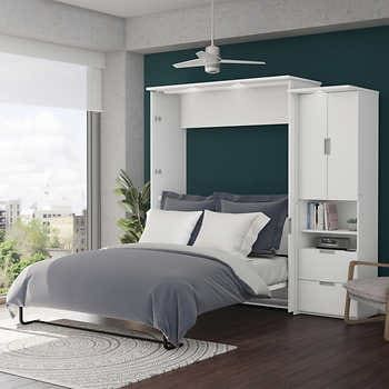 Best Boutique Queen Wall Bed With One 36 Storage Unit With 400 x 300