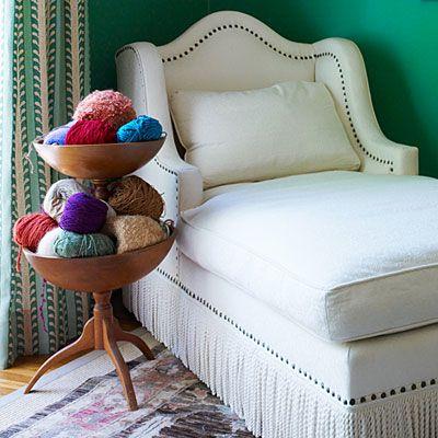 espaço do crochê