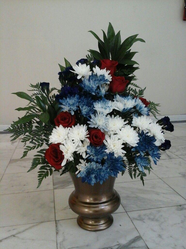 Floral design 4 july