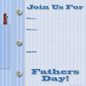 Free Printable Fathers Day Invitations Free Printable Party Invitations Fathers Day Fathers Day Cards
