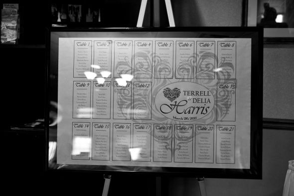 Seating Chart Try... : wedding reception seating chart table ...