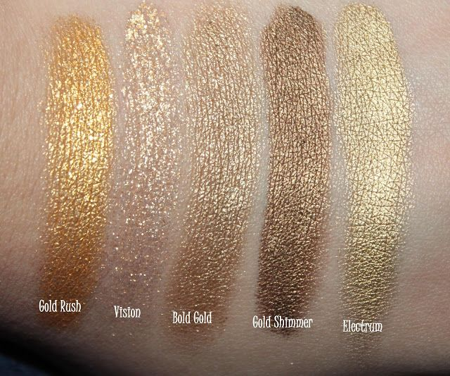 Swatches And Comparison Maybelline Color Tattoo Metal Collection Maybelline Color Tattoo Gold Tattoo Tattoo Eyeshadow