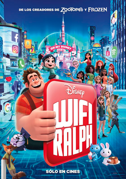 Wifi Ralph Descargar Pelicula Completa Ver Online Latino Dublado Wifi Ralph Completa En Español Ver Doblado Wifi R Internet Movies Wreck It Ralph Movie Guide