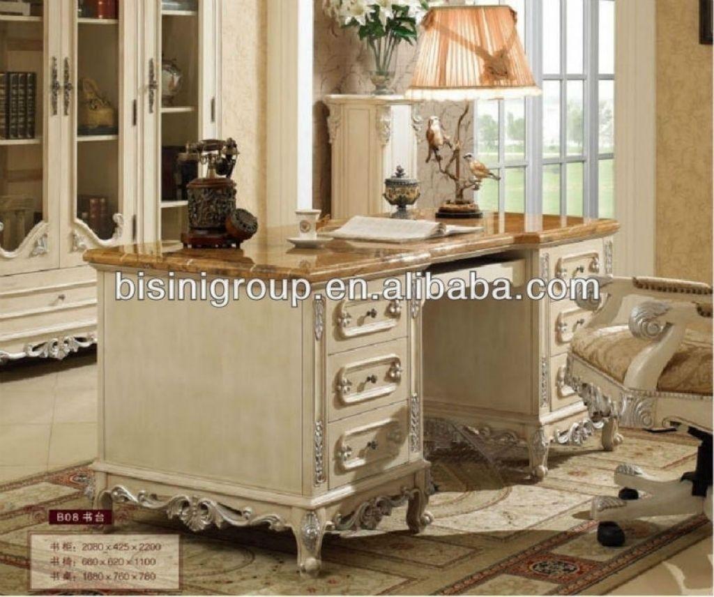 Home-office-schlafzimmer-design-ideen antique white home office furniture badezimmer büromöbel