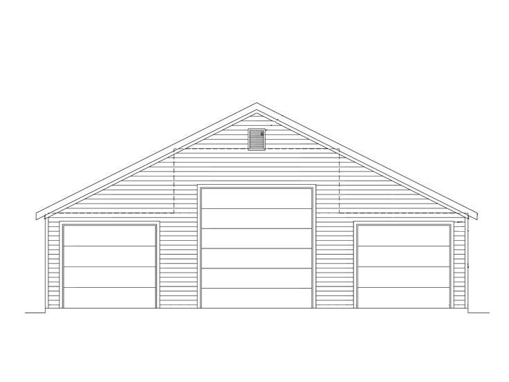 Rv Tandem Garage 024g 0007 Garage Design Plans Garage Plans Garage Design